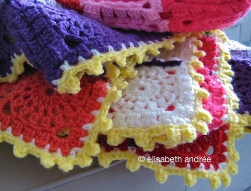edge of the festive blanket by elisabeth andrée