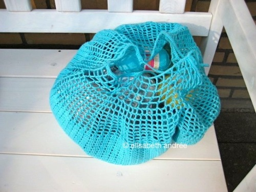 doily into bag by elisabeth andrée