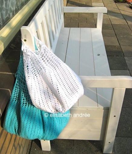 doily into bag by elisabeth andrée