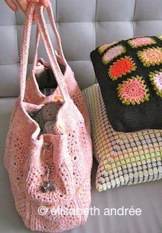 apricot bag by elisabeth andrée