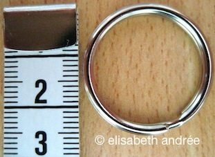 Metal_ring for apricot bag by elisabeth andrée
