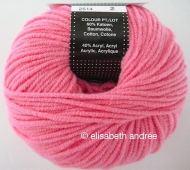 pink-flowers-yarn-stitches-shawl - elisabeth andrée