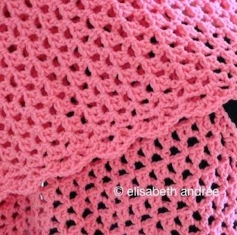 pink-flowers-yarn-stitches-shawl - elisabeth andrée