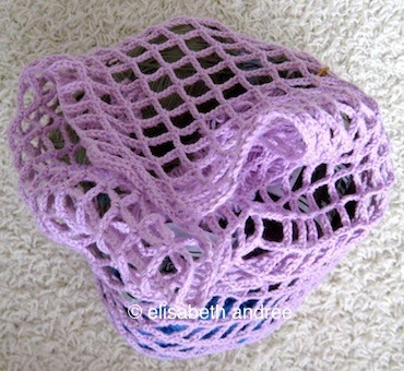 how to make a mesh bag by elisabeth andrée