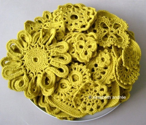 yellow motifs by elisabeth andrée