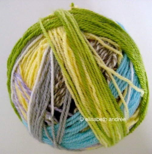 ball of yarn leftover - elisabeth andrée