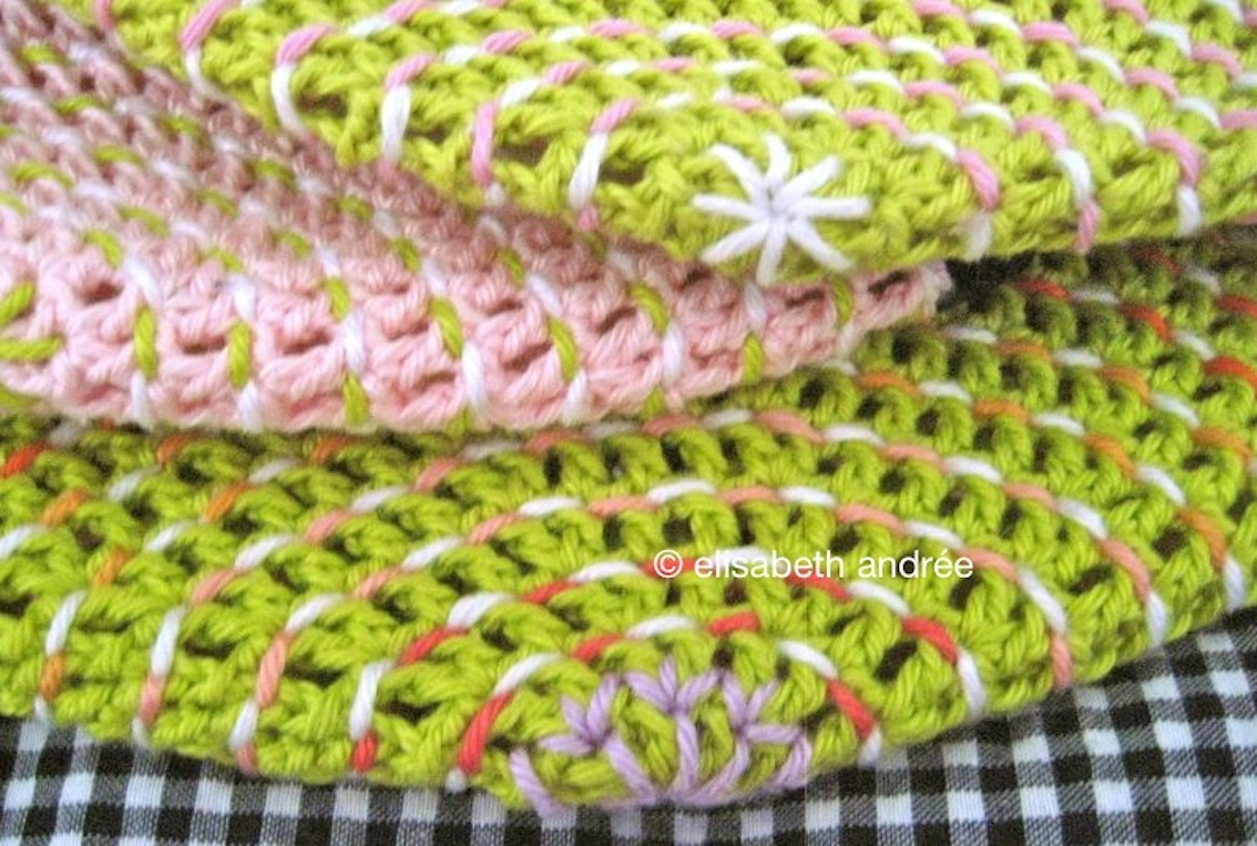 Crochet With Decorative Stitches Elisabeth Andree