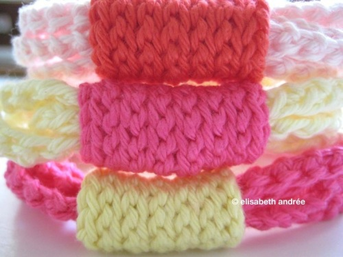 string bracelet by elisabeth andrée
