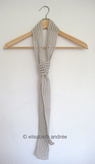 long summer scarf by elisabeth andree