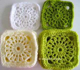 * squares for festive blanket