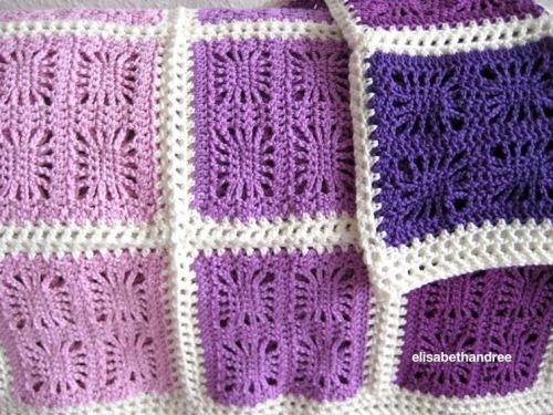 spider blanket by elisabeth andrée