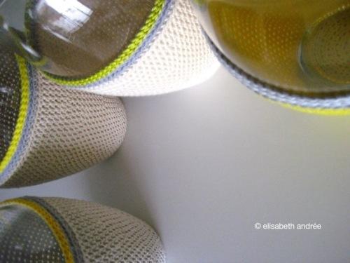 dressed up vases by elisabeth andrée