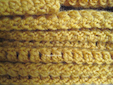 yellow blanket - stitch pattern