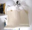 winter woolly white bag