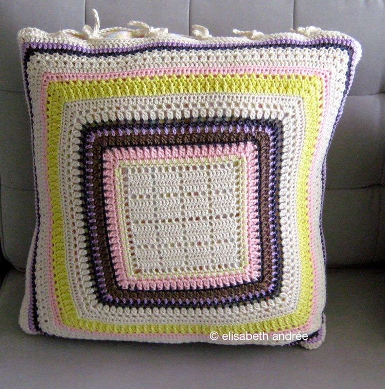 cushion cover for mom by elisabeth andrée