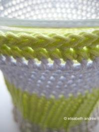 top edge vase cover