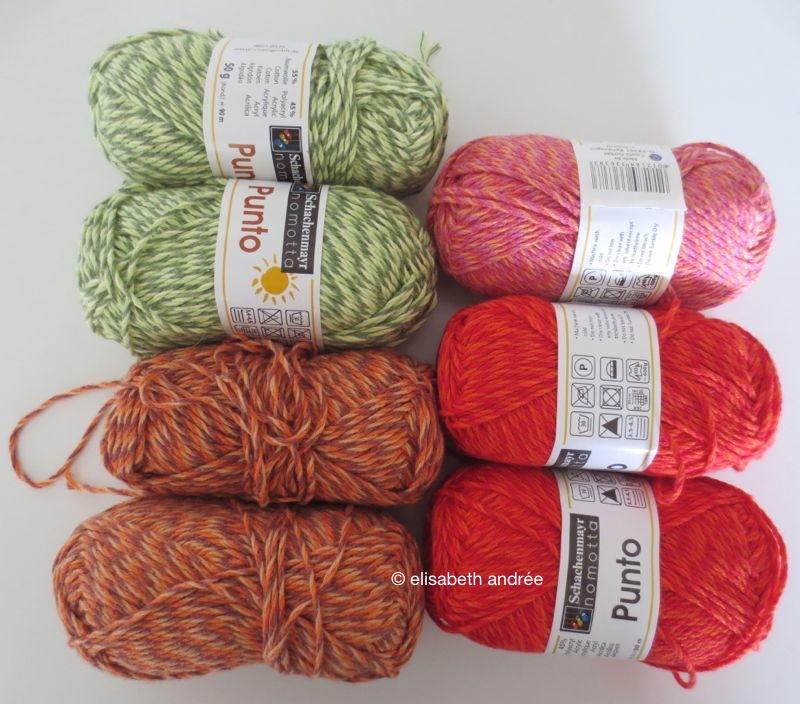 punto yarn