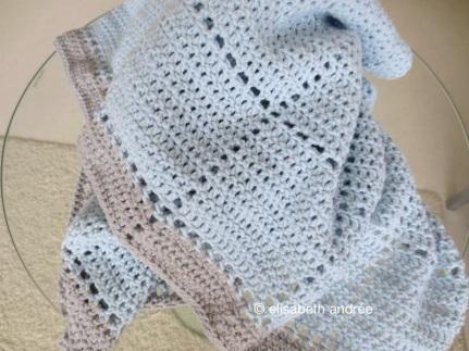 Easy Baby Blanket Crochet Pattern ~ Amigurumi crochet