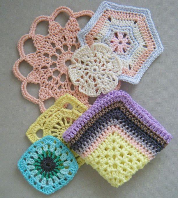 free crochet patterns for motifs