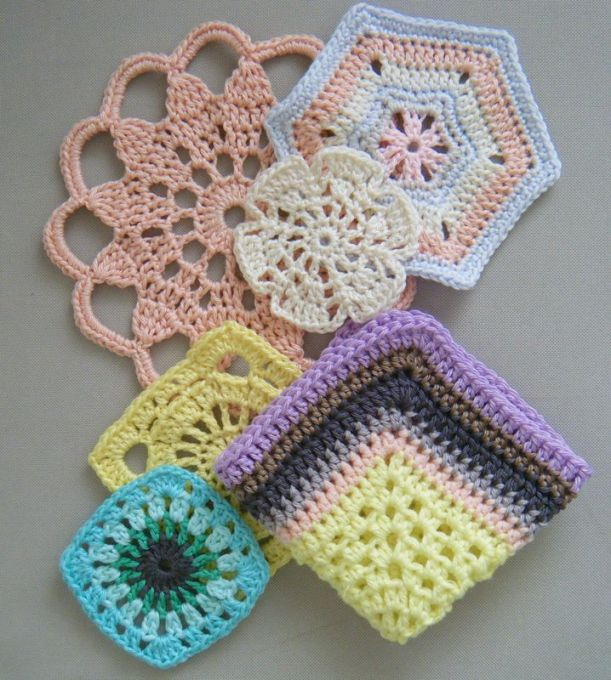 free crochet patterns for motifs