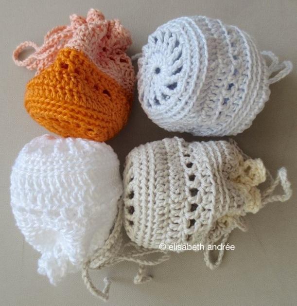4 pouches by elisabeth andrée