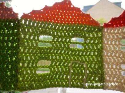 crochet burano house