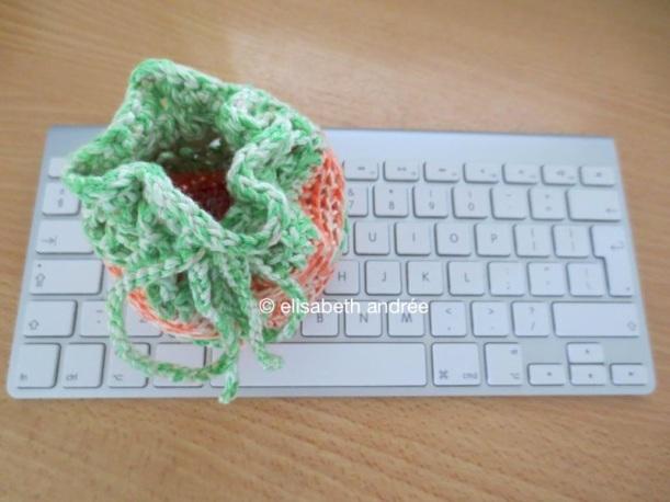 little pouch on keyboard