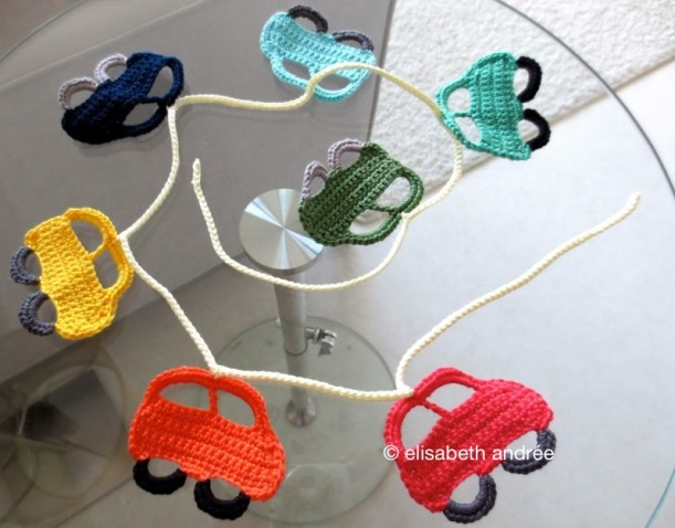 little cars garland