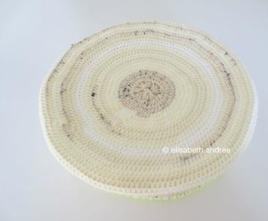 crochet basket upside down