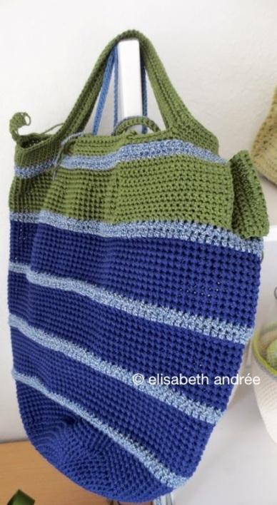 WIP: handbag/shopper back: little pocket with flap