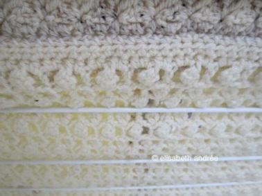patchwork blanket detail