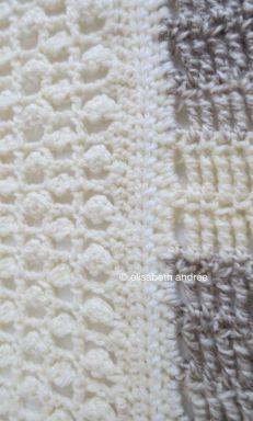 patchwork blanket details