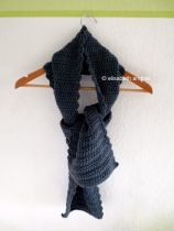 new scarf made of baltic yarn of bergere de france
