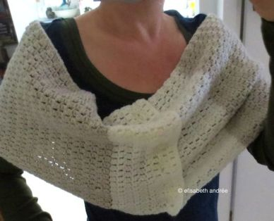 cowl also wearable as stole
