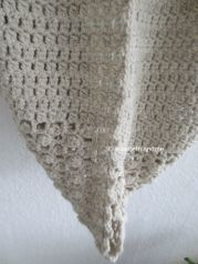 cowl with 2 different stitch pattern
