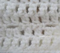 cowl with buttonholes