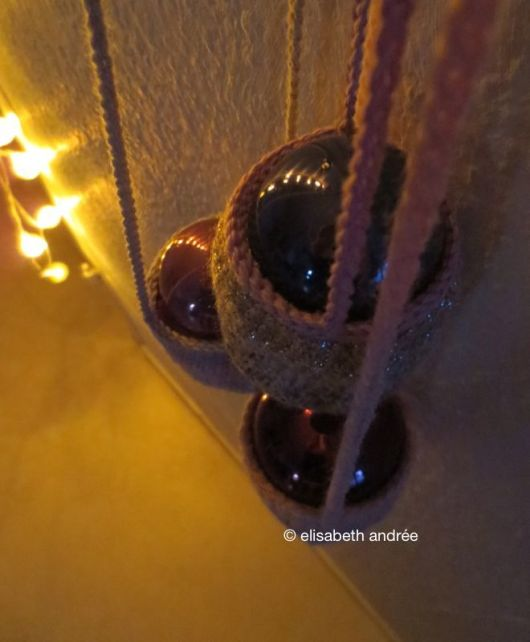 crochet baskets and baubles
