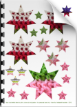 faux crochet stars - pdf download