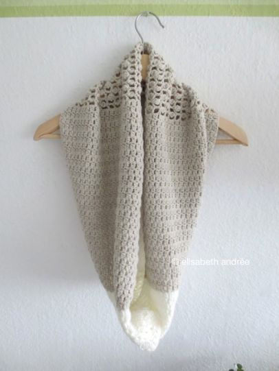 neutral shades cowl by elisabeth andrée