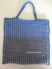 small open work market bag