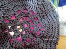 bottom of crochet object