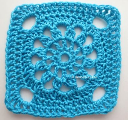 another square bright blue version