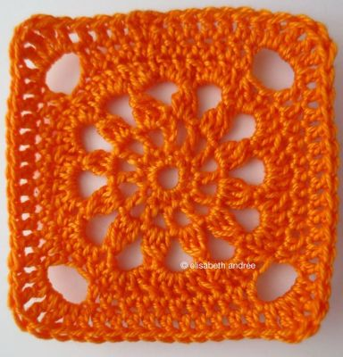 another square orange version