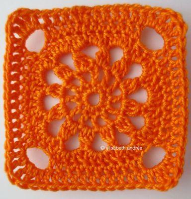 another square orange version