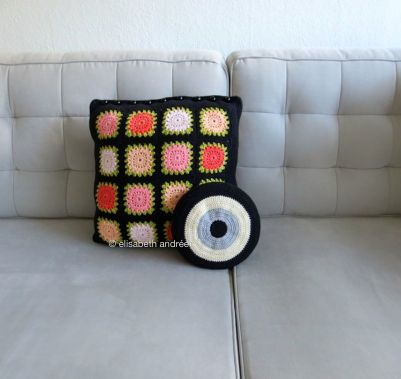 toy for balou and cushion on couch