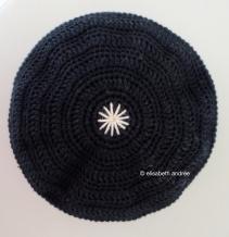 black cuddle cushion