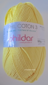 citron colored yarn