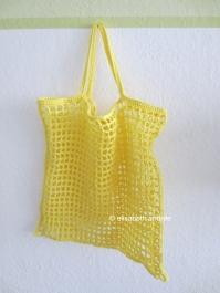citron grocery bag by ellisabeth andrée