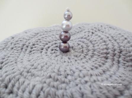 grey cuddle cushion
