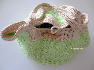 spring bag by elisabeth andrée